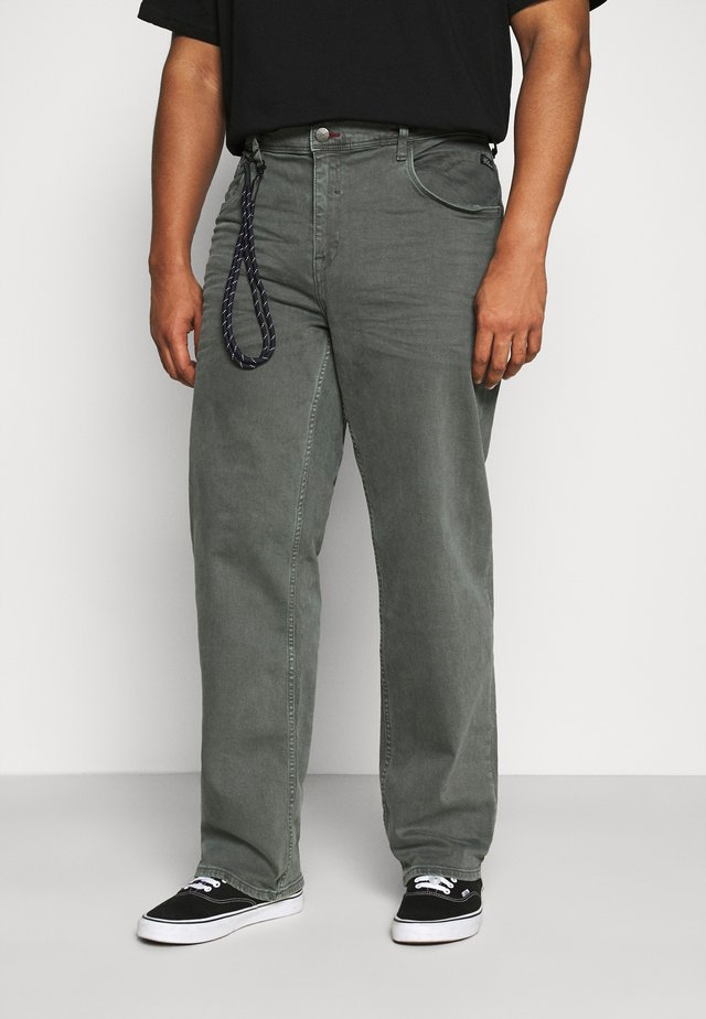 PANTS - Džíny Straight Fit - iron gate