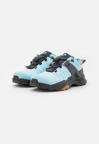 Salomon - X ULTRA 4 GTX - Hiking shoes - crystal blue/black/cumin - 1