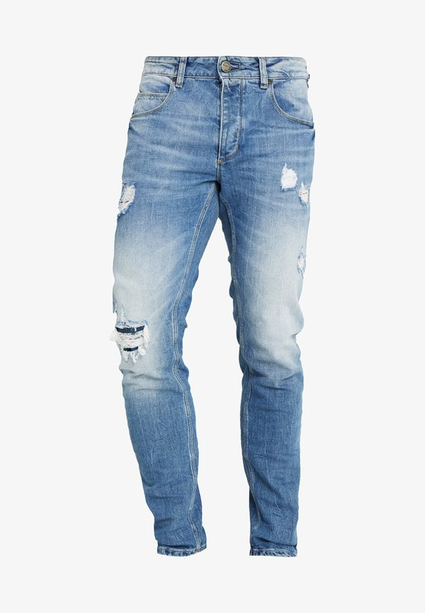 Gabba REY - Jeansy Slim Fit - blue denim/niebieski denim Odzież Męska GTTV