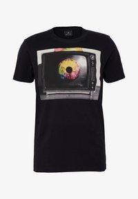 PS Paul Smith - MENS SLIM FIT TV EYE - Printtipaita - black - 4