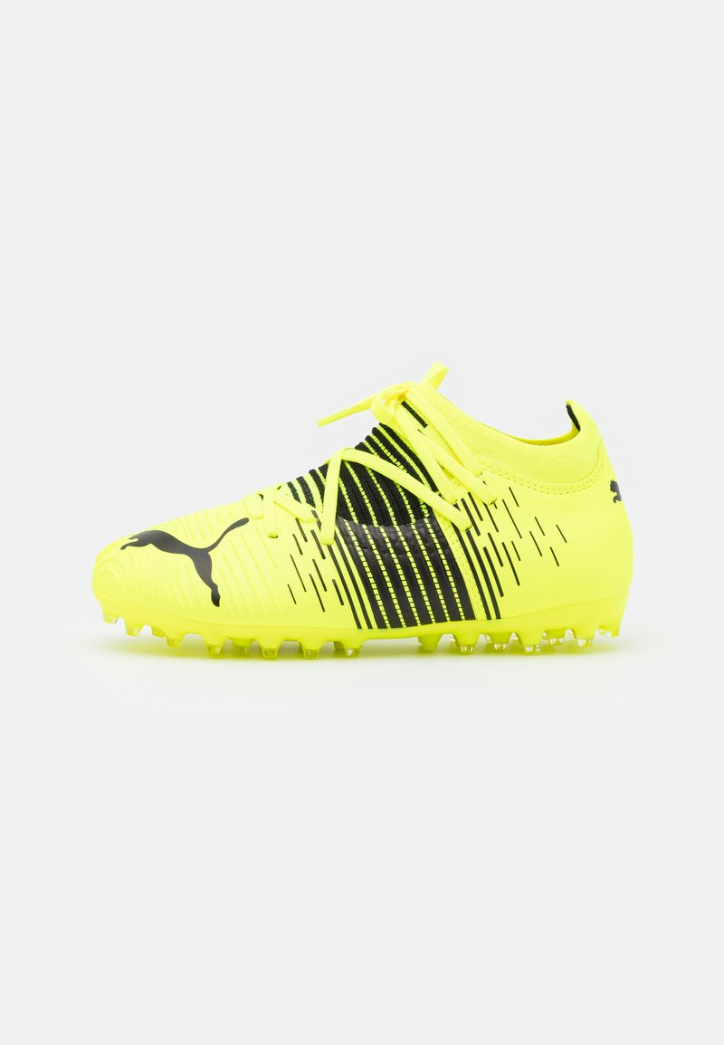 Puma - FUTURE Z 3.1 MG JR UNISEX - Moulded stud football boots - yellow alert/black/white