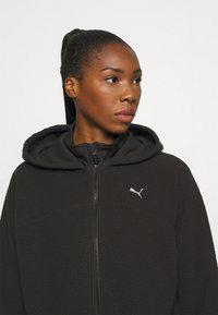 Puma - STUDIO JACKET - Fleece jacket - black - 5