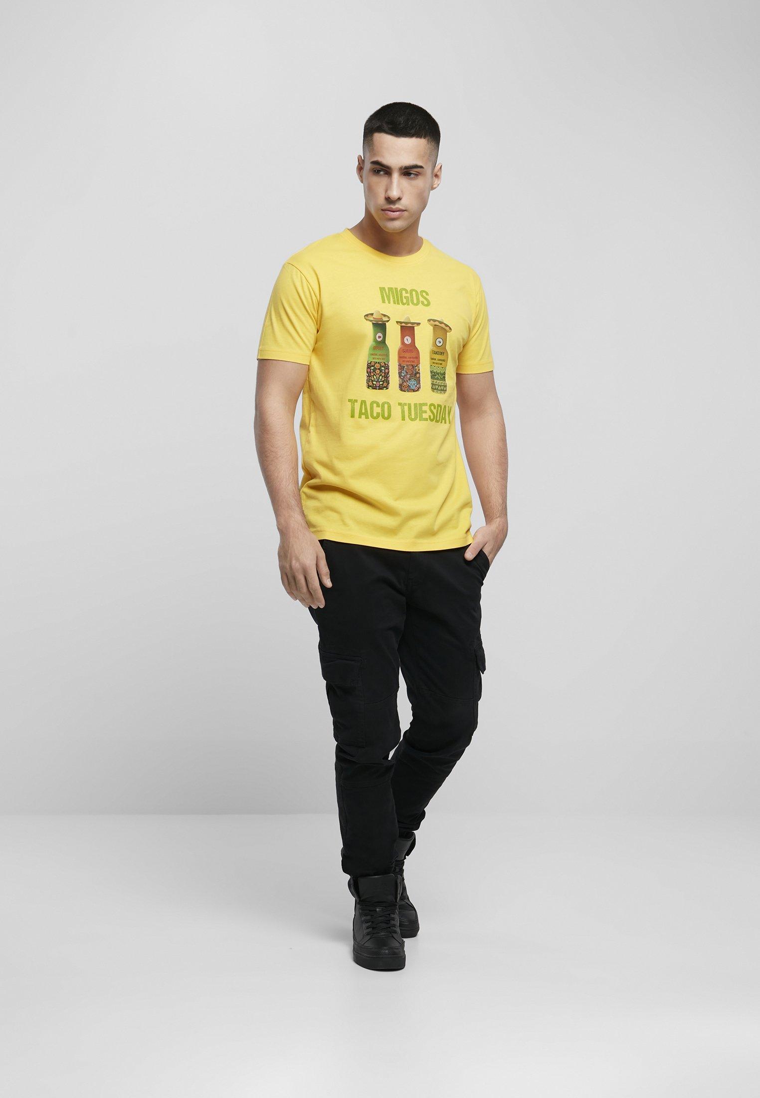 Herren MIGOS TUESDAY TACO  - T-Shirt print