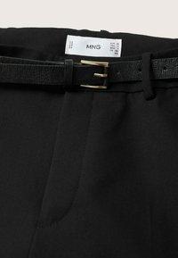 Mango - Chinos - noir - 7