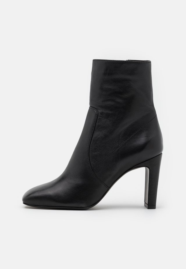 BIADELOIS ZIP BOOT - Classic ankle boots - black