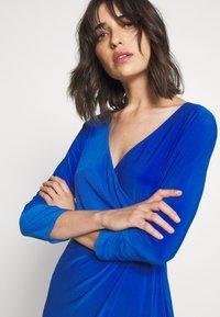 Lauren Ralph Lauren - MID WEIGHT DRESS - Shift dress - sapphire - 3