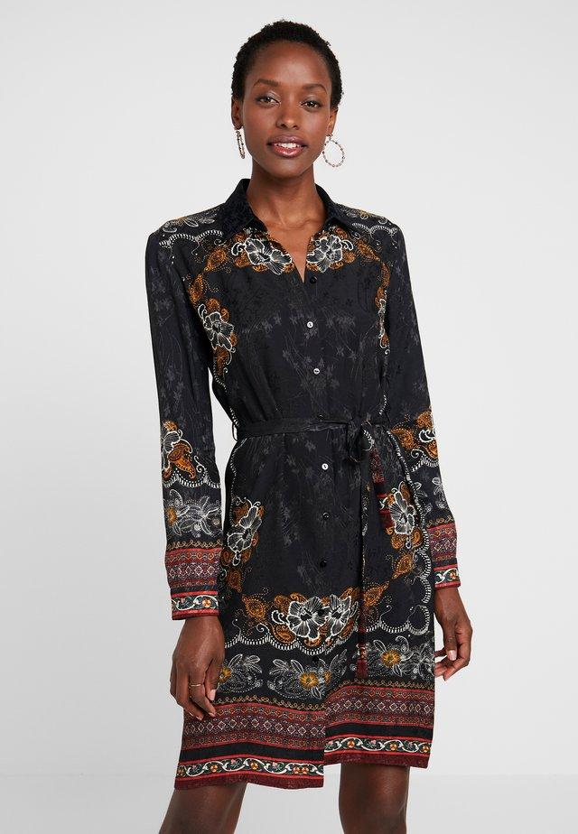 VEST SUAM - Košilové šaty - black