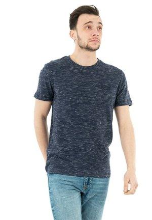 Print T-shirt - bleu