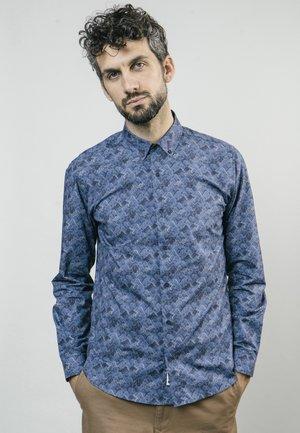 IBUKI MOUNTAINS - Shirt - blue