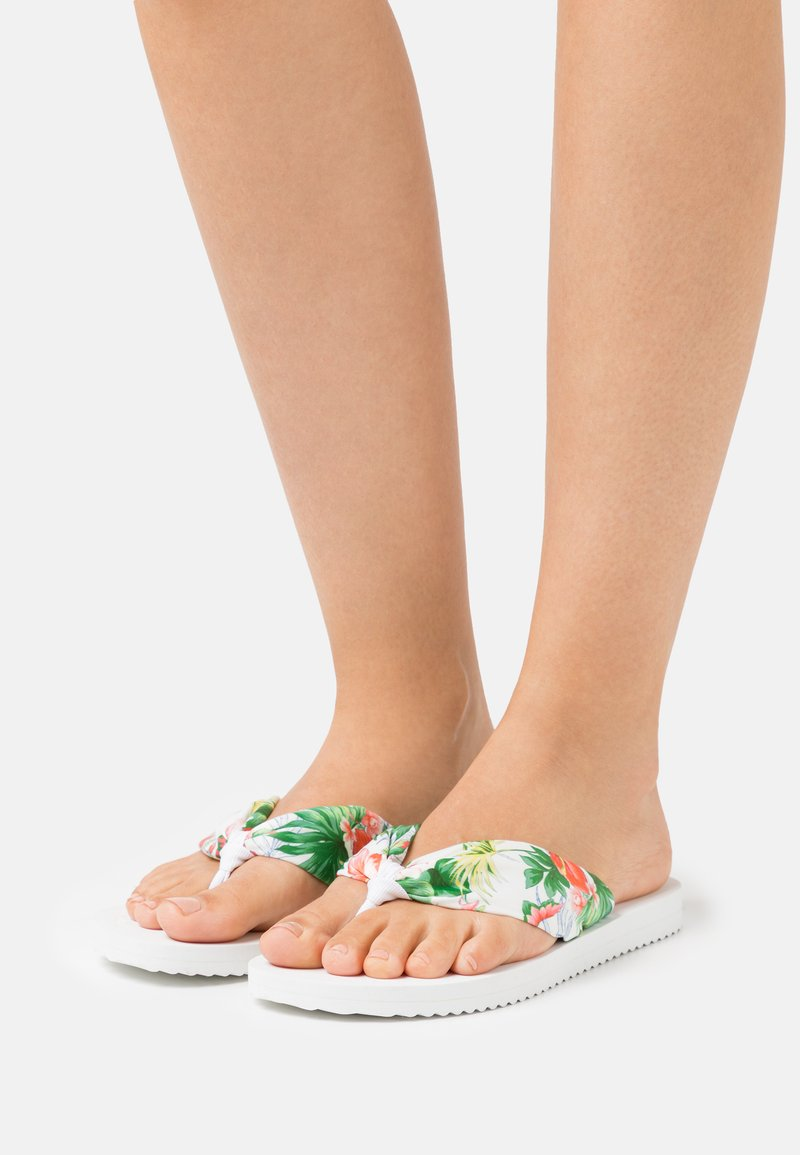 flip*flop - TUBE TROPICS - T-bar sandals - white