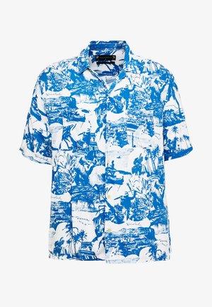 AWA - Shirt - white/blue