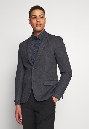 SOFT TWO TONE - Suit jacket - dark blue