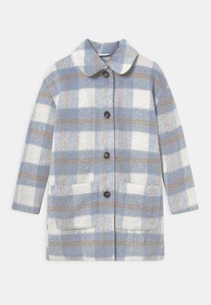 BOUCLE - Klasyczny płaszcz - blue