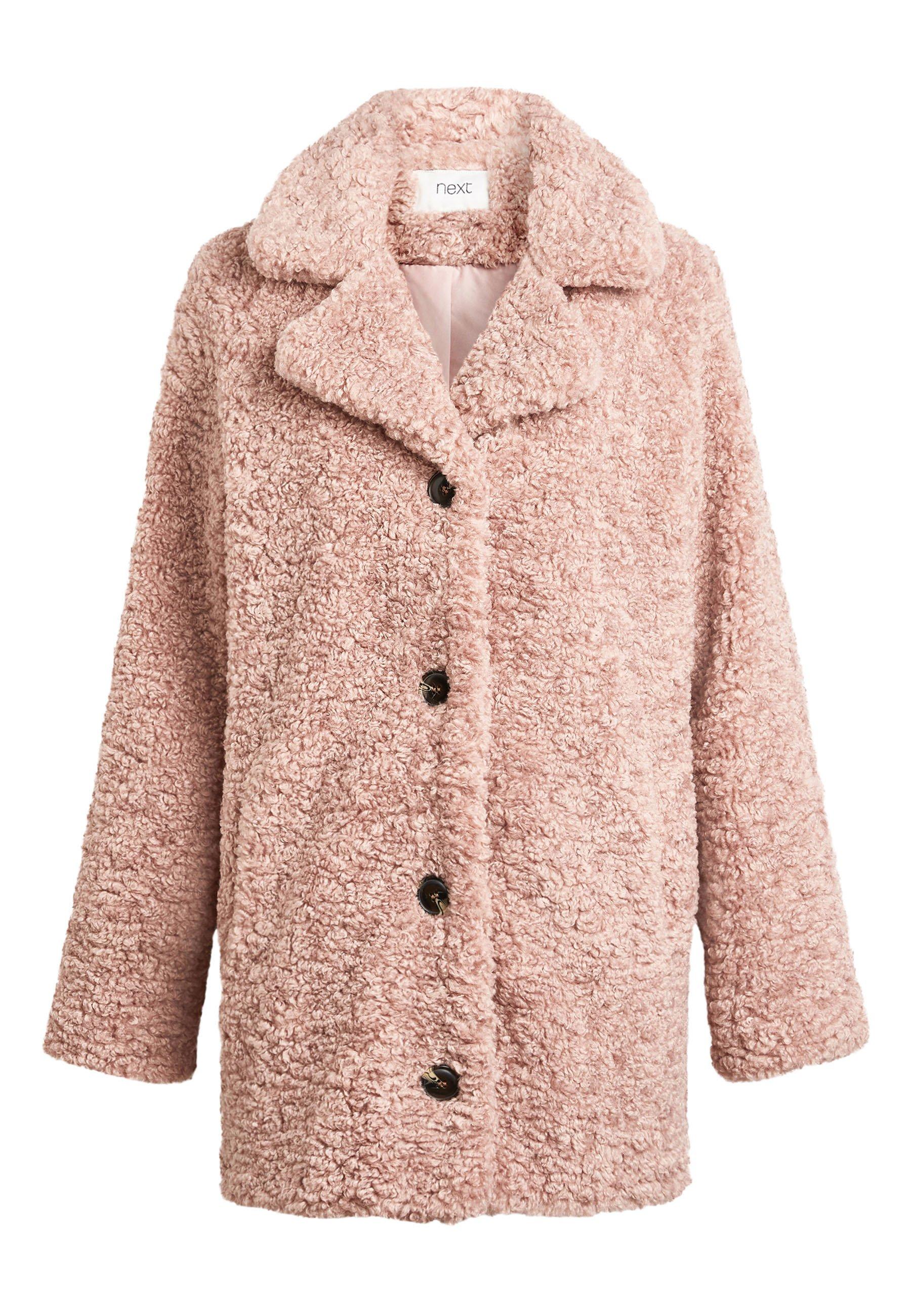 TEDDY BORG Winterjas pink