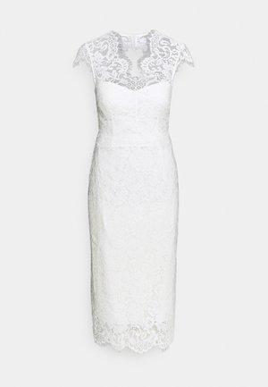 MARGARET - Koktejlové šaty/ šaty na párty - snow white