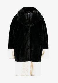 Gina Tricot - EVERLYN COAT - Zimní kabát - black/white - 4