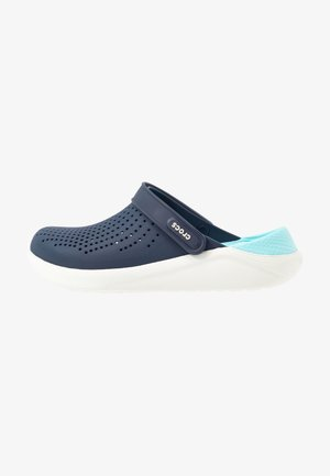 LITERIDE - Pantofle - navy/almost white