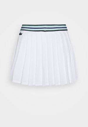 TENNIS SKIRT - Sportovní sukně - white/cosmic spirulina/navy blue