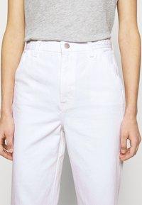 J Brand - BRAIDED TROUSER JOAN - Flared Jeans - braided white - 3
