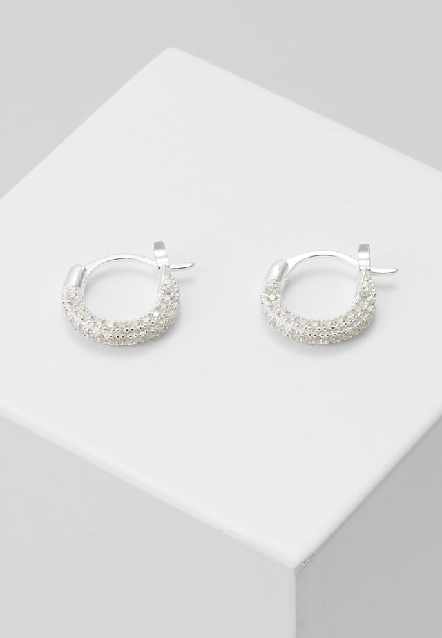 THIK PAVE - Earrings - silver