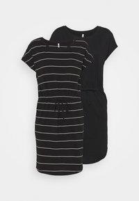 black/thin stripe/black solid