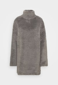 Nly by Nelly - TURTLENECK DRESS - Day dress - steel grey - 5
