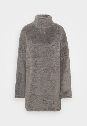 TURTLENECK DRESS - Day dress - steel grey