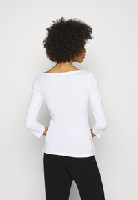 Anna Field - 2 PACK - Long sleeved top - white/black - 2