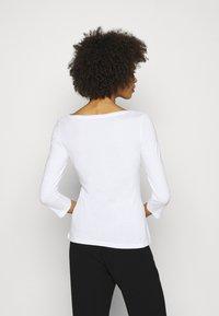 Anna Field - 2 PACK - Top sdlouhým rukávem - white/black - 2