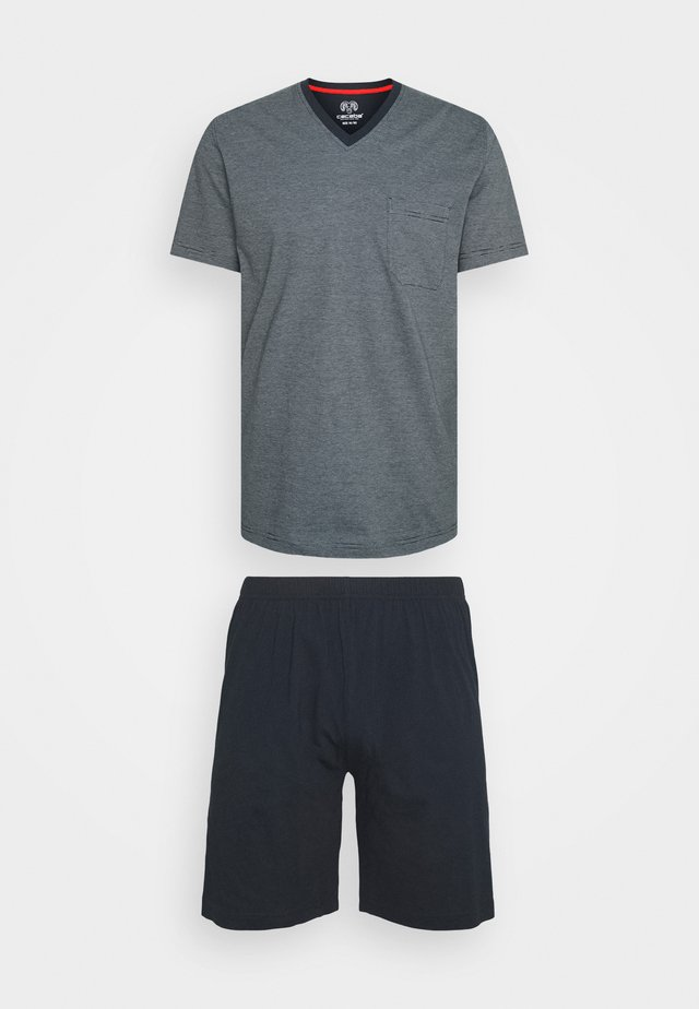 SORTY V NECK SET - Pyjama - blue medium