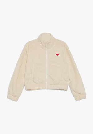 TEENS COZY TEDDYJACKET - Light jacket - vanilla