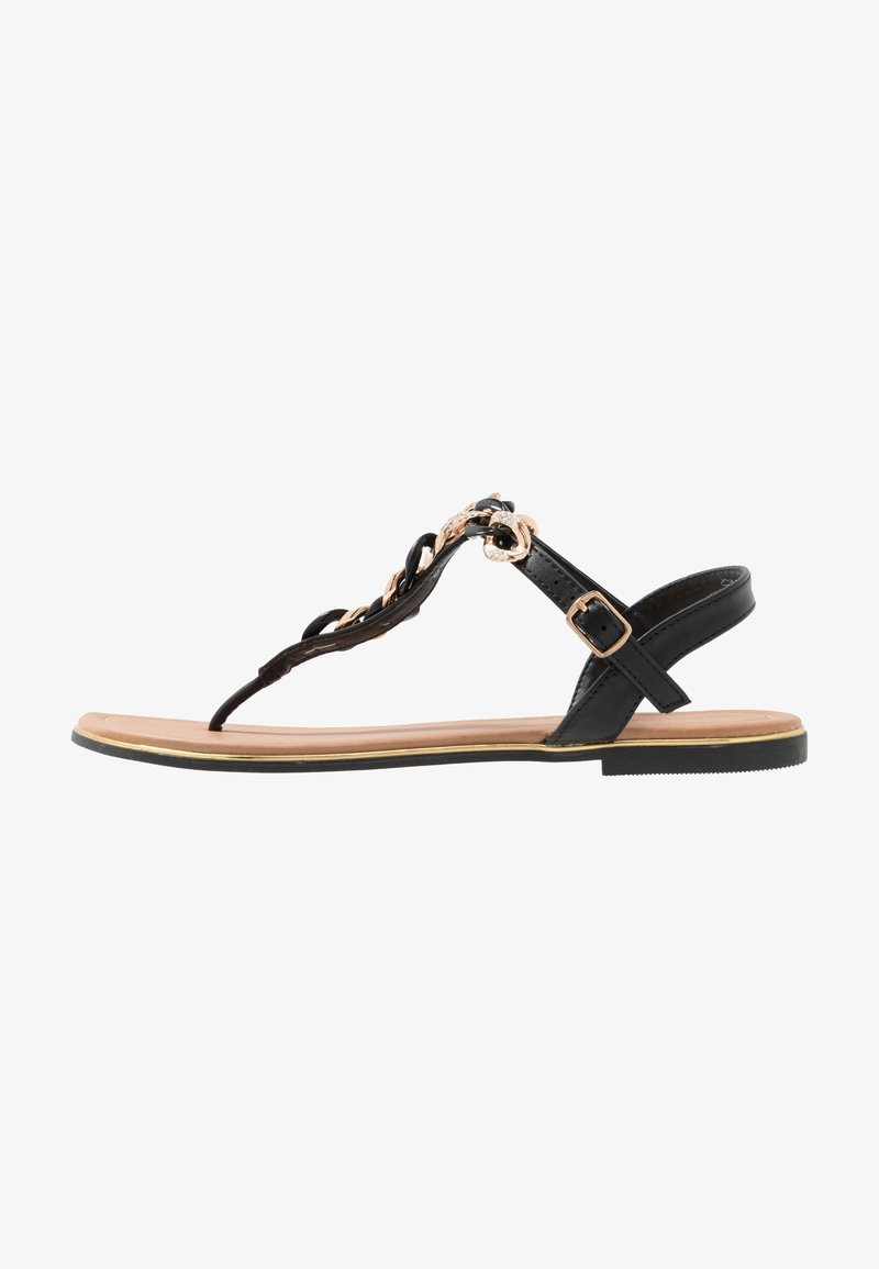 Anna Field - T-bar sandals - black