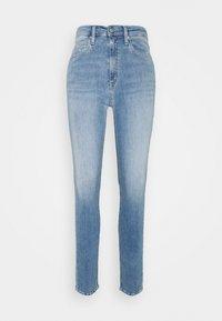 Calvin Klein Jeans - HIGH RISE SKINNY - Jeans Skinny Fit - denim light - 0