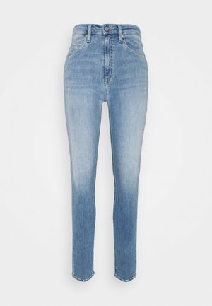 HIGH RISE SKINNY - Skinny džíny - denim light