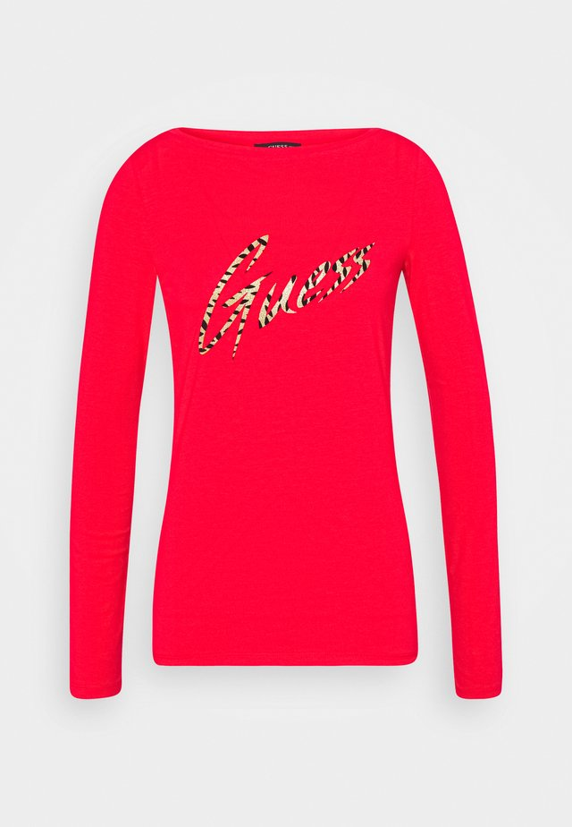 NORAH  - Long sleeved top - red attitude