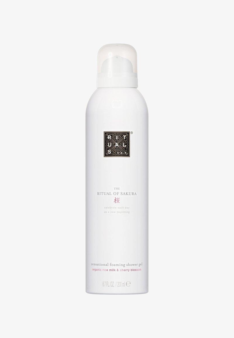 Rituals - THE RITUAL OF SAKURA FOAMING SHOWER GEL  - Shower gel - -