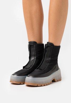 STIVALE DONNA WOMAN'S BOOT - Platform ankle boots - black