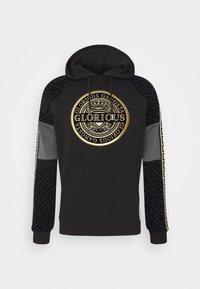 Glorious Gangsta - BOTTAGOHOODIE - Jersey con capucha - black - 4