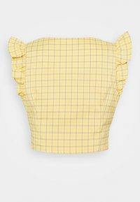 Fashion Union - VELINO - Camicetta - yellow - 1