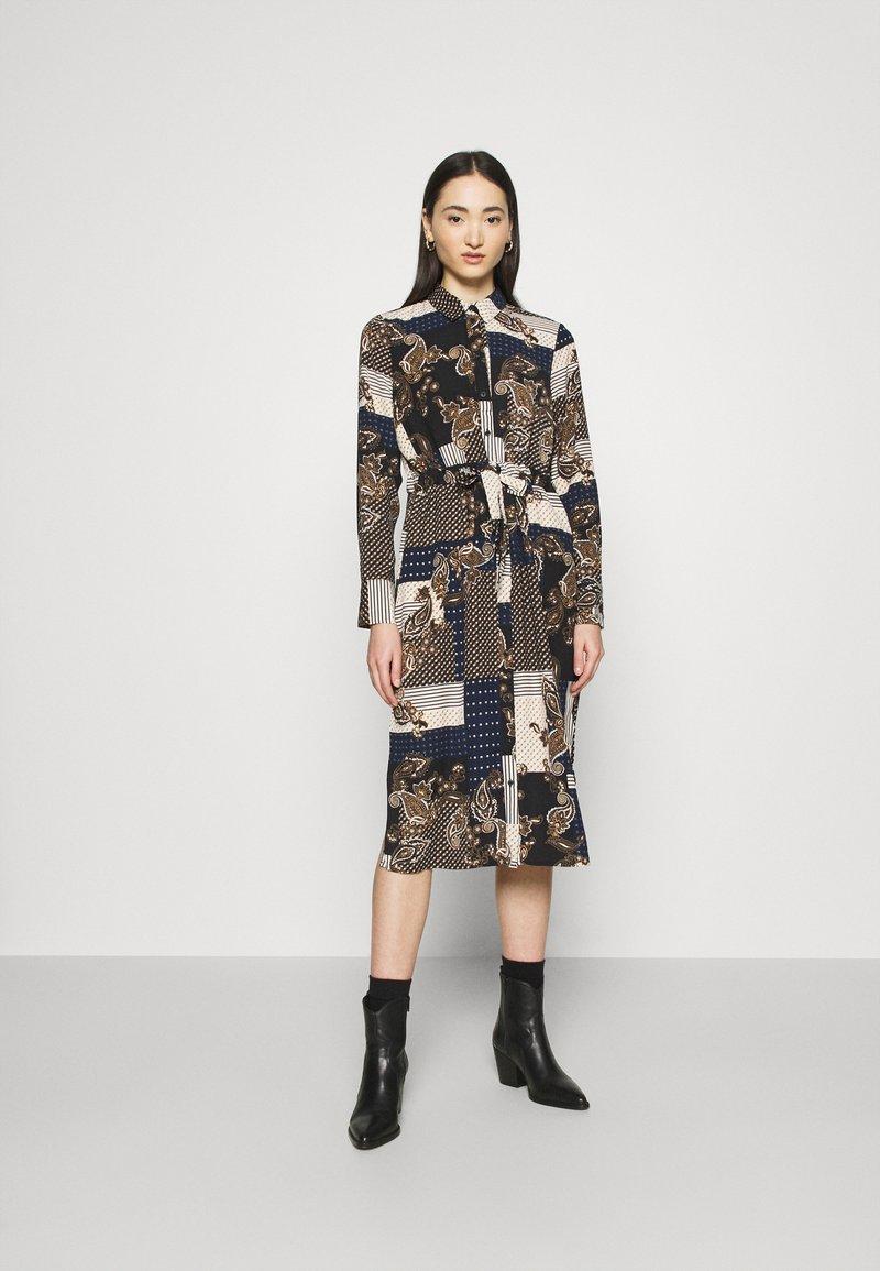 Vero Moda - VMHILDA CALF DRESS - Day dress - navy blazer/hilda