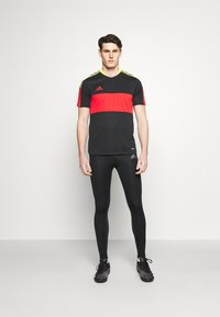 adidas Performance - TECH FIT LONG - Medias - black - 1