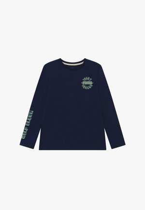 LONGSLEEVE TEE - Long sleeved top - peacoat