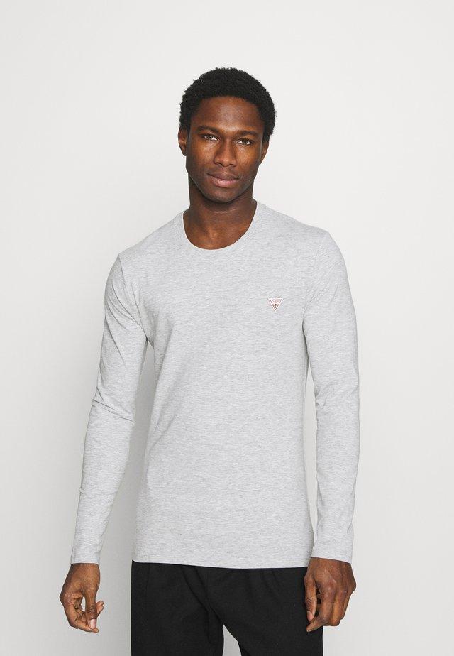 CORE TEE - Long sleeved top - stone heather grey