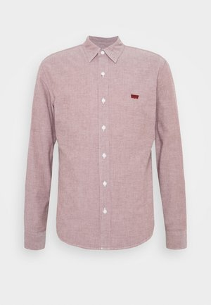 BATTERY SLIM - Shirt - light red
