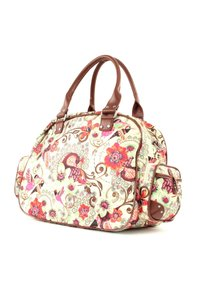 Oilily - TROPICAL BIRDS CARRY ALL - Weekend bag - off white - 4