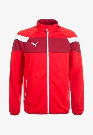 SPIRIT  - Training jacket - red/white