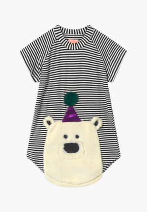 NOVA BEAR - Jersey dress - black/white