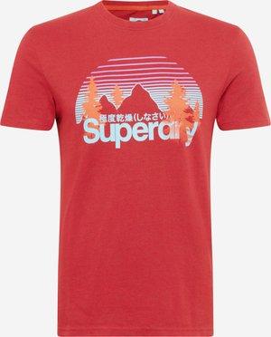CLASSIC WILDERNESS - Print T-shirt - creek red marl