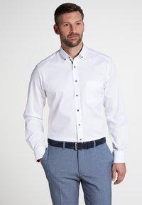 Eterna - FITTED WAIST - Shirt - white - 0