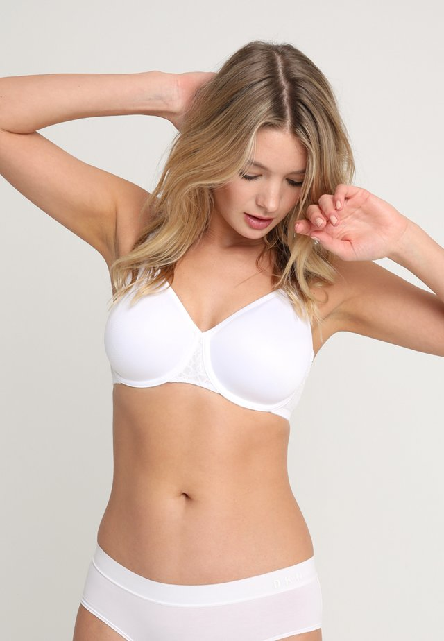 COMFORT MINIMIZER - Underwired bra - white